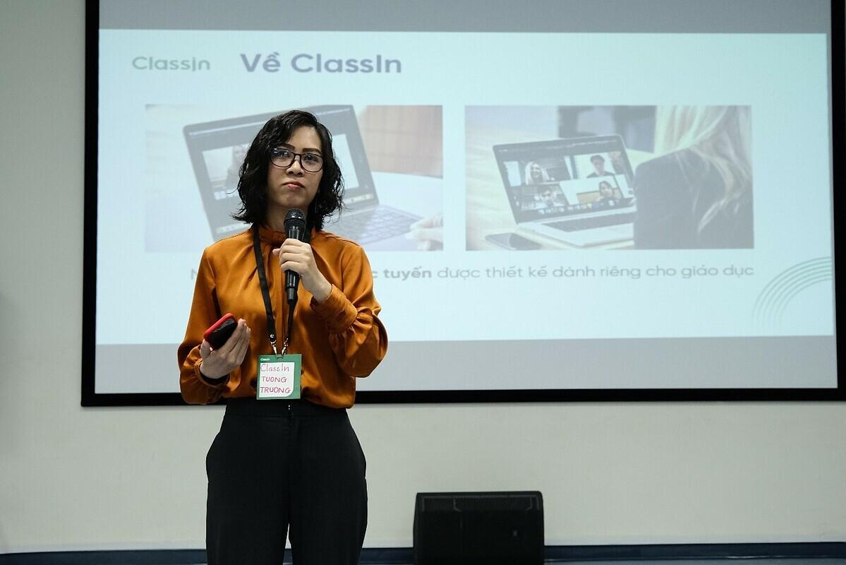 Giám Đốc ClassIn Việt Nam chia sẻ về giáo dục trực tuyến